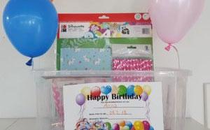 Geburtstagskisten für Kinder
