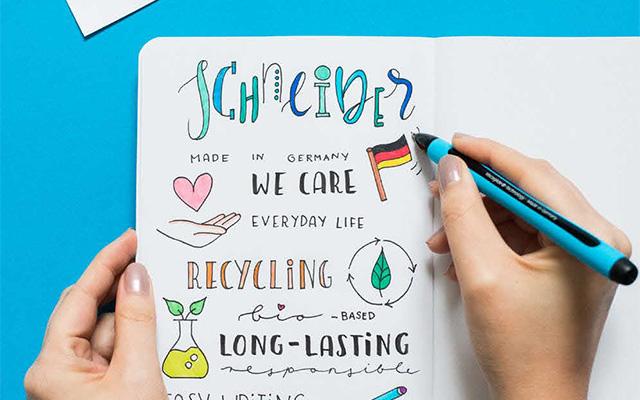 Schneider Farben und Stift